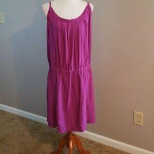 LSY raspberry spaghetti strap dress size 3x